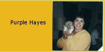 Purple Hayes